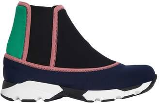 Marni 30mm Neoprene High Top Sneakers