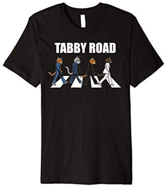 Tabby Road Cats T Shirt Cool Cat Graphic Tee