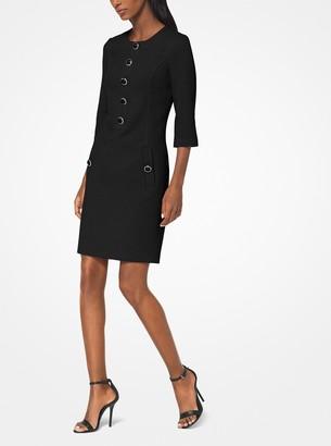Michael Kors Collection Stretch Boucle-Crepe Shift Dress