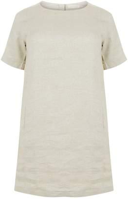 Eileen Fisher Linen Metallic Dress