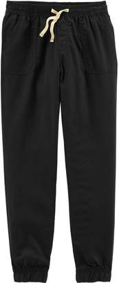 Carter's Girls 4-14 Solid Jogger Pants