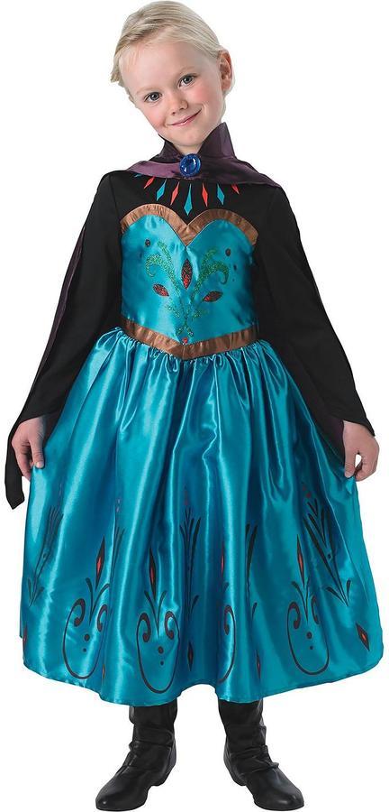 Disney Frozen Disney Frozen - Coronation Elsa - Child Costume With Free Book