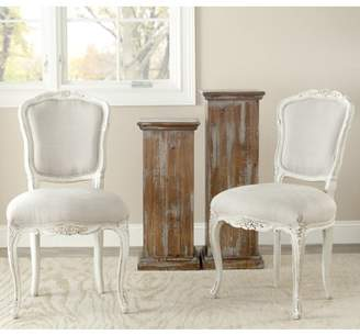 Safavieh Provence French Side Chair, Set of 2, Taupe