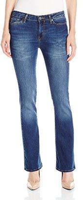 Calvin Klein Jeans Women's Modern Bootcut Jean, Dark Wash $69.50 thestylecure.com