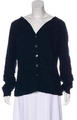 Chanel Textured Long Sleeve Cardigan