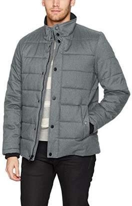Nautica Men's Herringbone Quilted Jacket