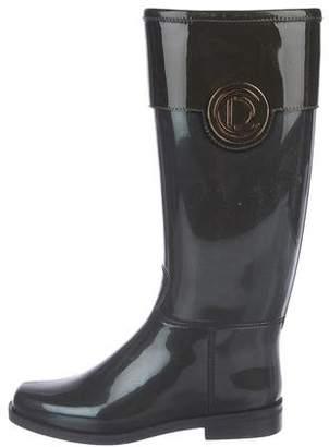 Christian Dior Rubber Rain Boots