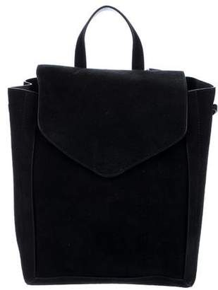 Loeffler Randall Small Suede Backpack