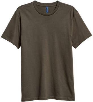 H&M Round-necked T-shirt - Green