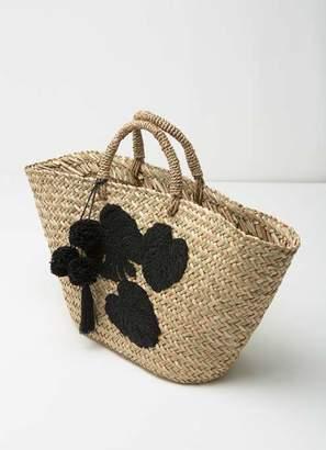 Mint Velvet Clara Beaded Basket Shopper