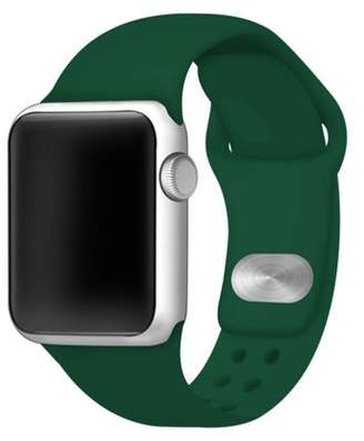 Affinity Bands Black Silicone Sport Band for 38mm and 40mm Apple Watch