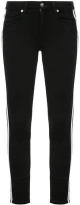 7 For All Mankind side stripe skinny jeans