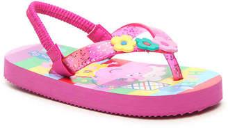 Peppa Pig Peppa Toddler Flip Flop - Girl's