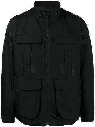 White Mountaineering Cordura raglan jacket
