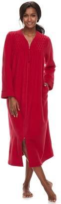 Miss Elaine Petite Essentials Brushed Terry Robe