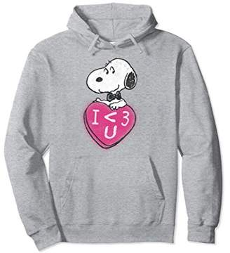 Peanuts Snoopy Heart Love Candy Hoodie