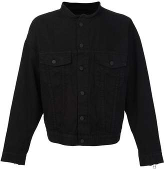 Daniel Patrick collarless buttoned jacket