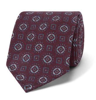 Rubinacci 8cm Wool-Jacquard Tie