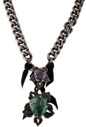 Lanvin Automne Leaf Necklace
