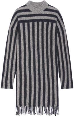 Alexander Wang Merino Striped Dress