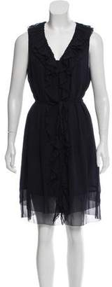 Tory Burch Silk Sleeveless Dress