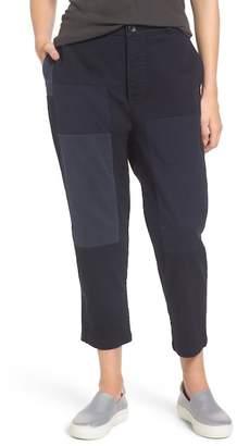 James Perse Crop Straight Leg Pants