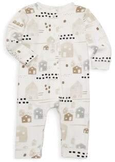Petit Lem Baby Boy's Stretch Cotton Playsuit