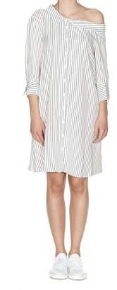 Dondup Striped Shirt Dress