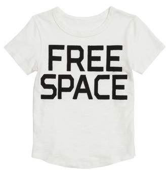 Stem Free Space Applique T-Shirt
