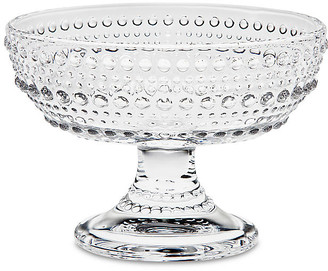 One Kings Lane Lumina Oval Footed Serving Bowl - Clear