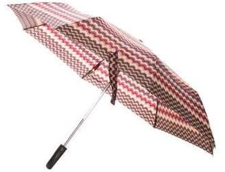 Missoni Printed Retractable Umbrella