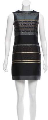 Victoria Beckham Victoria Striped Sheath Dress
