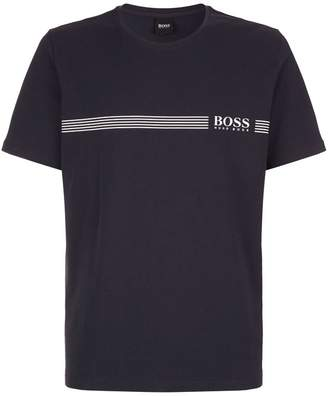 HUGO BOSS Heritage Logo Stripe T-Shirt