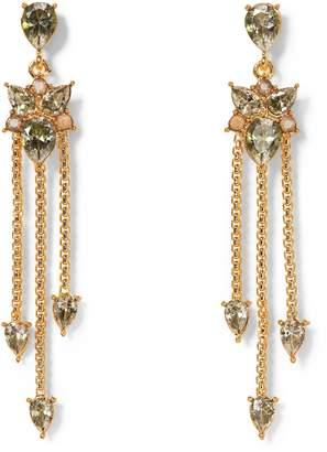 Vince Camuto Goldtone Jewel-spike Chandelier Earrings