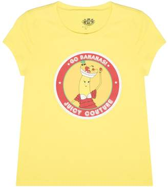 Juicy Couture Banana Sticker Graphic Tee for Girls