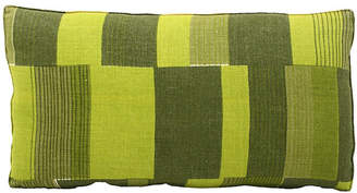 One Kings Lane Vintage Midcentury Abstract Bolster Pillow