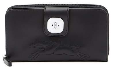 LONGCHAMP Gatsby Leather Zip Wallet