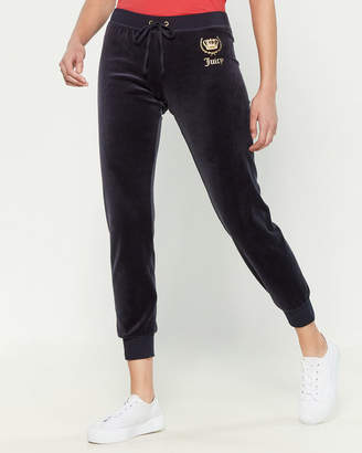 Juicy Couture Crown Velour Joggers