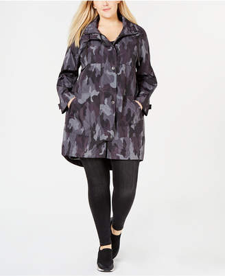 7cad0599b0058 Style & Co Plus Size Camo-Print Hooded Jacket