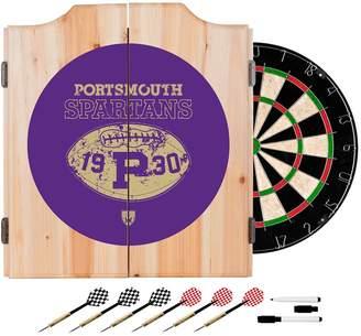 Kohl's Portsmouth Spartans Wood Dart Cabinet Set