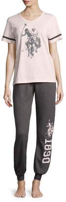 U.S. Polo Assn. Pant Pajama Set-Juniors