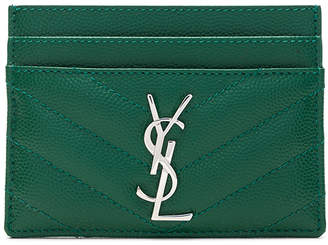 Saint Laurent Monogramme Card Case