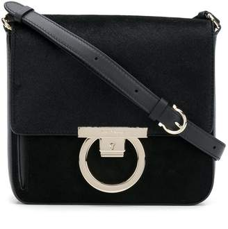 Salvatore Ferragamo Gancini crossbody satchel