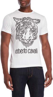 Roberto Cavalli Tiger Face Tee
