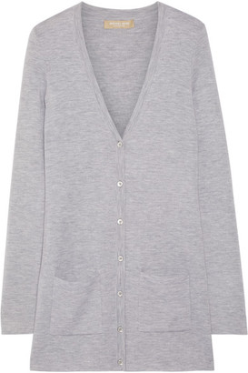 Michael Kors Collection - Cashmere Cardigan - Gray $1,395 thestylecure.com
