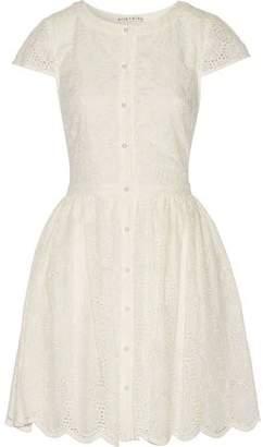 Alice + Olivia Alisha Cotton And Silk-Blend Dress