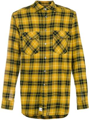Department 5 plaid shirt