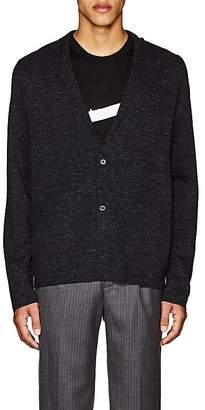 Lanvin Men's Mélange Wool-Blend Cardigan