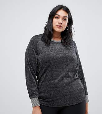 Junarose metallic sweatshirt