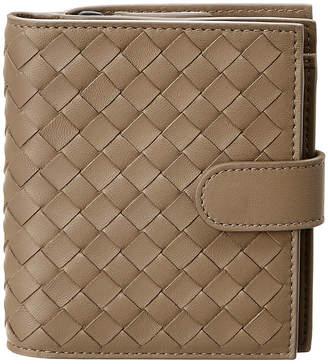 Bottega Veneta Intrecciato Leather Mini Bifold Wallet
